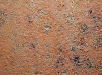 Texture of rusty old iron