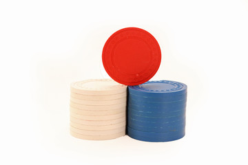 USA Colored Casino Chips