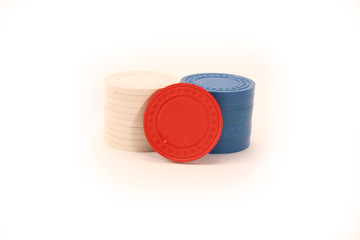 USA Colored Casino Poker Chips
