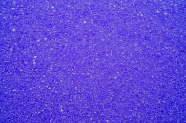 Porous texture of sponge purple