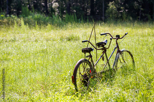 Plexiglas Fiets Bicycle