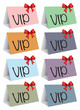 VIP colorful cards