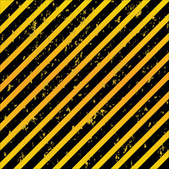 Warning patterns danger tapes background old rusty.