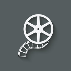 film roll design element