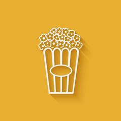 popcorn design element