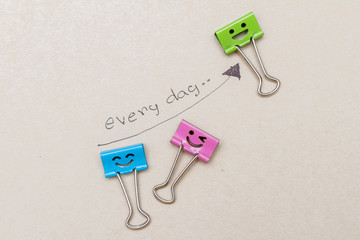 paper clip work happy