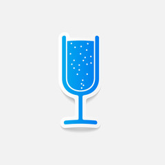 realistic design element: cocktail