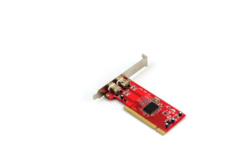 Modem card for desktop computer