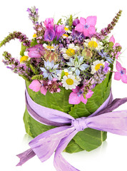Table decoration, present, flower arrangement