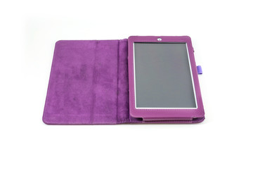 purple tablet case