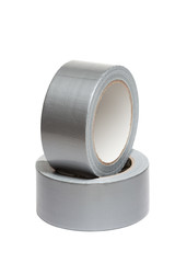 Rolls of white adhesive tape