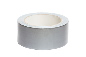 Roll of white adhesive tape