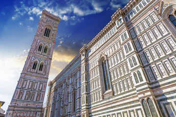 Beautiful view of Cathedral of Florence