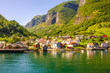 Aurlandsfjorden - Undredal in Norway