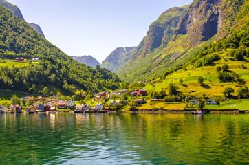 Aurlandsfjorden in Norway