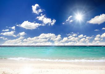 Einsamer, karibischer Traumstrand :)