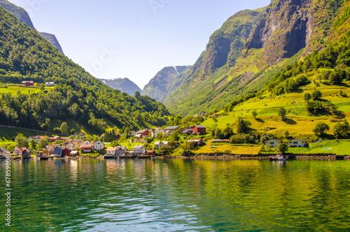 Aurlandsfjorden in Norway - 67859806