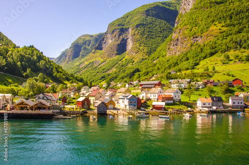 Aurlandsfjorden - Undredal in Norway - 67859811