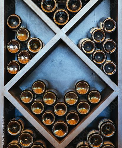 Leinwandbild Motiv wine rack