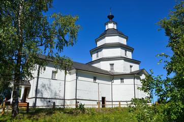 Деревянная церковь Илии Пророка в Цыпино, Вологодская область