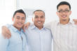 Southeast Asian business team