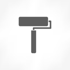 roller brush icon