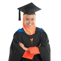 Muslim university student