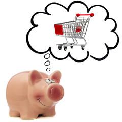sparen beim Einkauf