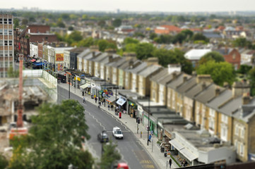 Tilt Shift London Road