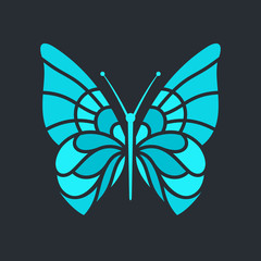 Butterfly sign