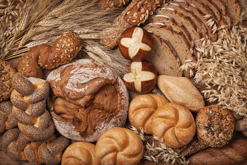 Various bread