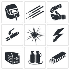 Welding icon collection