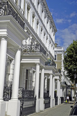 Posh houses, London