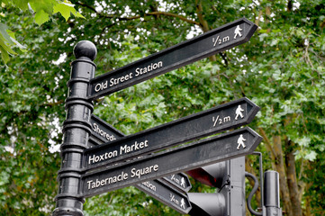 Directions in London