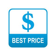 Etiqueta tipo app azul BEST PRICE
