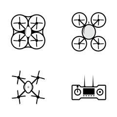Icons for quadrocopter