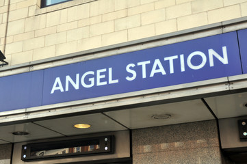 Angel Station, London
