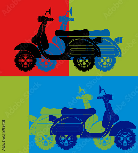 Scooter - 67866438