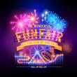 Retro Fairground Circus Sign - 67866647