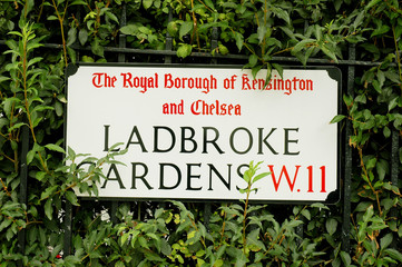 Ladbroke Gardens, London