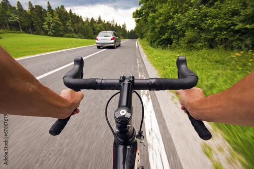 Deurstickers Fietsen Road cycling