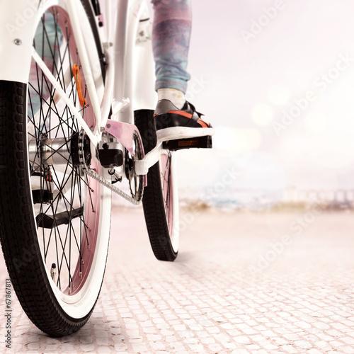 Foto Spatwand Fiets bike