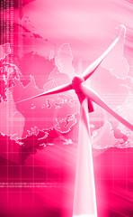 windmill generator power plant