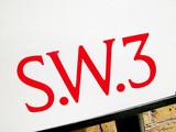 SW3 Sign, Chelsea & Kensington poster