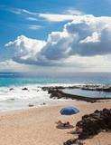 plage de Boucan, piscine naturelle, île de la Réunion