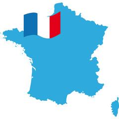 mappa francia