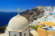 Obrazy na płótnie, fototapety, zdjęcia, fotoobrazy drukowane : Orthodox church of St. John at Fira, Santorini