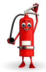 Fire Extinguisher character is working
