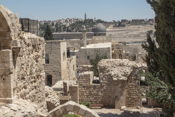 Walk through the ancient streets of Jerusalem.