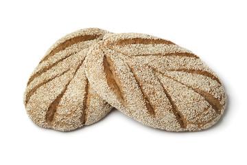 Fresh Moroccan semolina bread